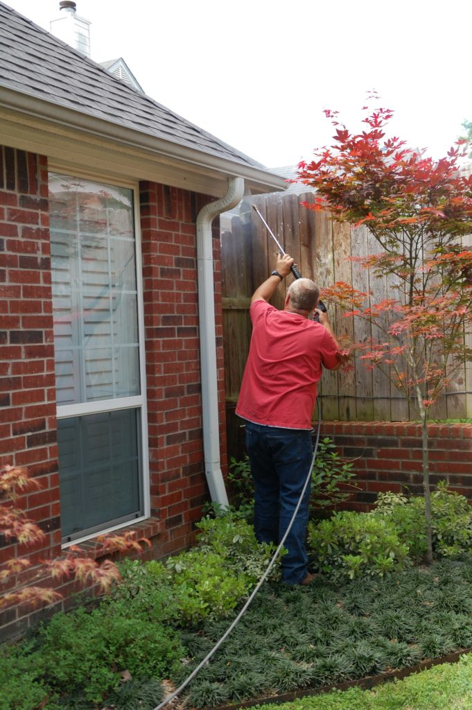 Tyler Window Cleaning Pressure Washing Gutters Christmas Lights Tyler Texas - Steve's Window Cleaning